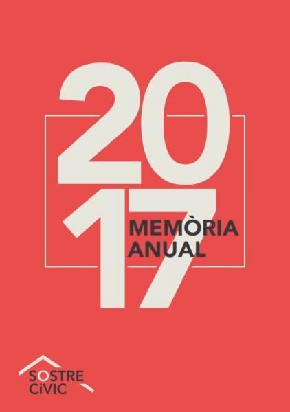 Memòria 2017 - Sostre Cívic